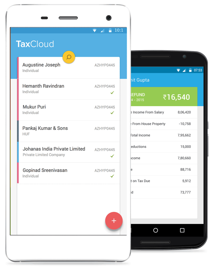 TaxCloud on Mobile